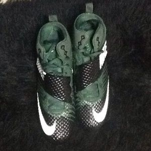 Men's Green Black a Football Cleats